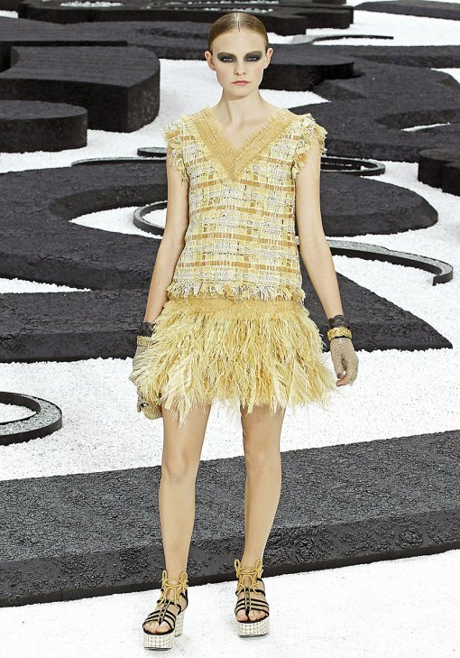Chanel Feathers