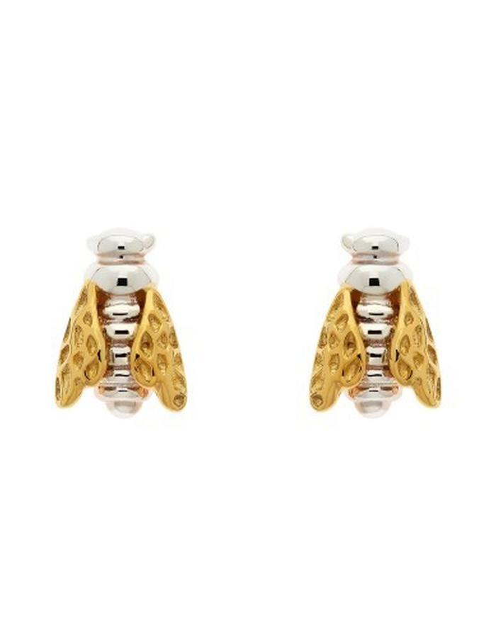 honeybee stud earrings by Strange of London