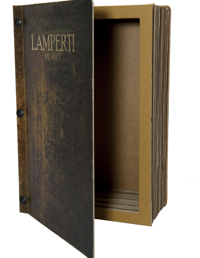 Book-shaped shoe box