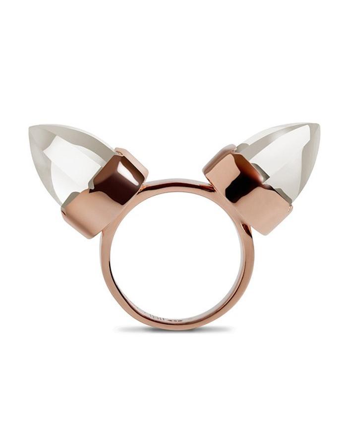 Diaboli Kill Jewelry Rose Gold Levant Ring