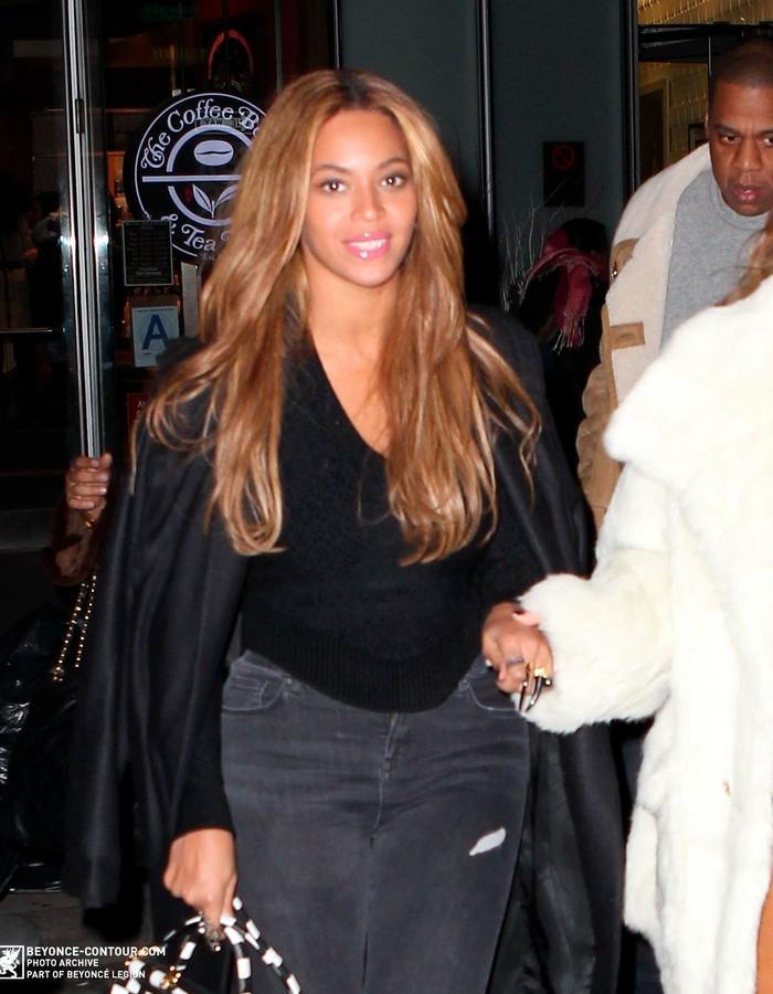 Beyonce wears Diaboli Kill Jewelry on Valentine's Day