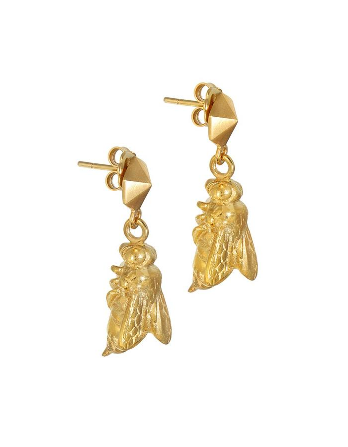 Gold Sting Earrings