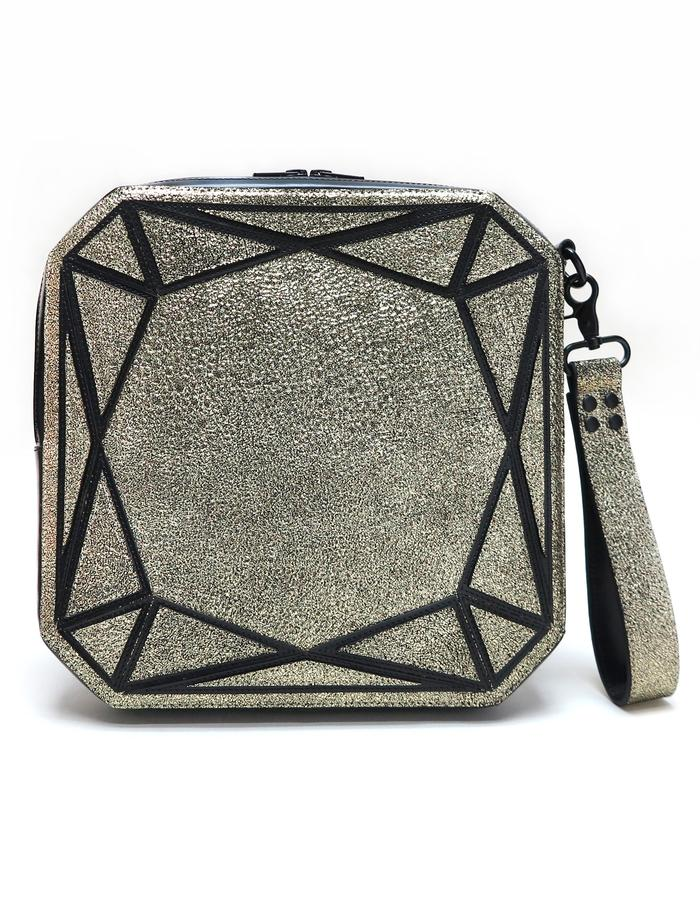 Cushion Clutch - Gold (Front)