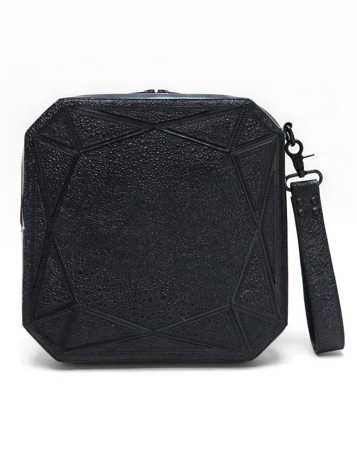 Cushion Clutch - Black (Front)