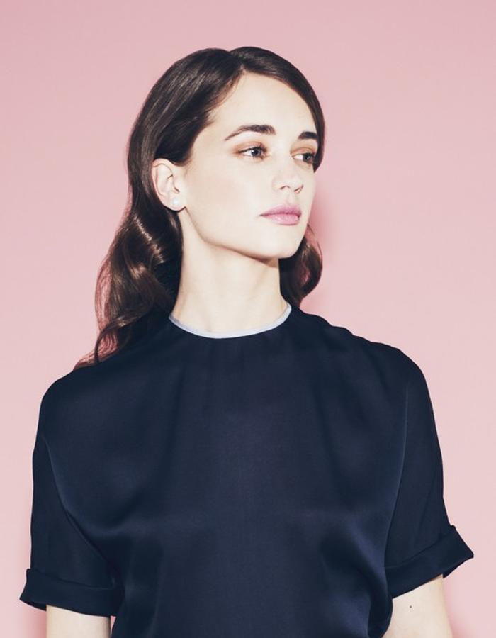 Lilly Ingenhoven SS15 silk t-shirt
