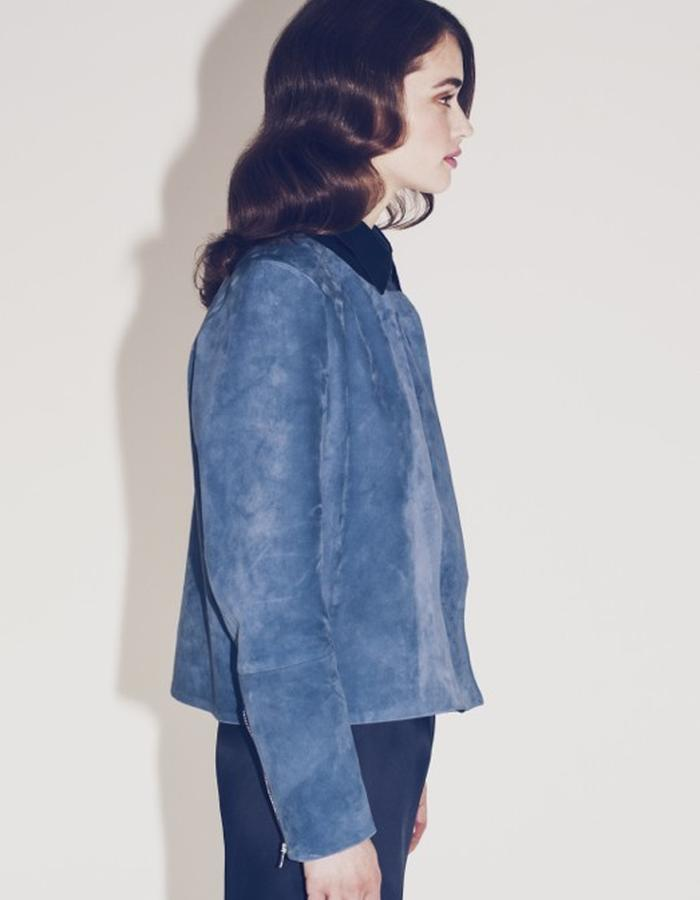 Lilly Ingenhoven SS15 leather jacket