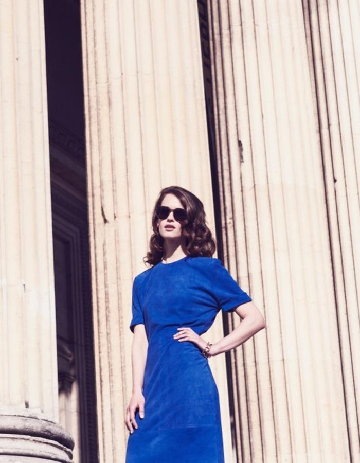 Lilly Ingenhoven SS15 leather dress