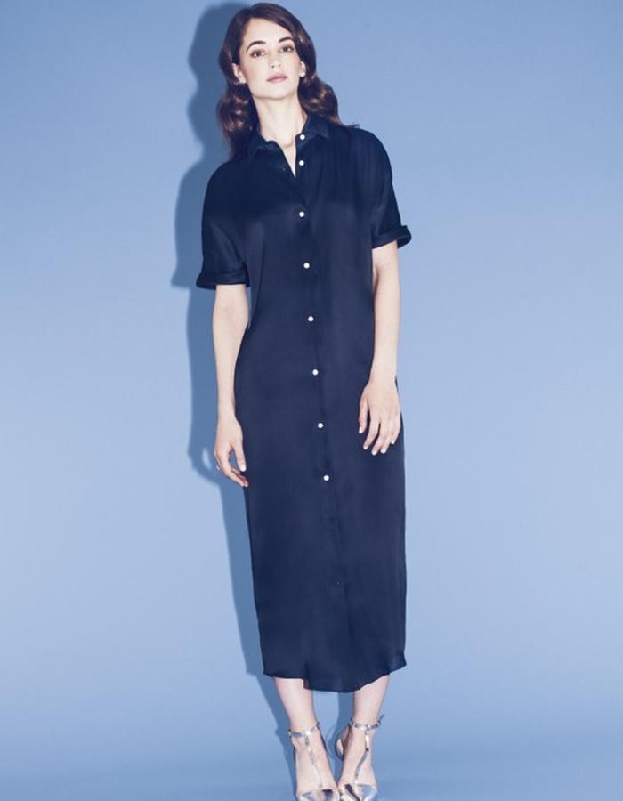 Lilly Ingenhoven SS15 silk dress