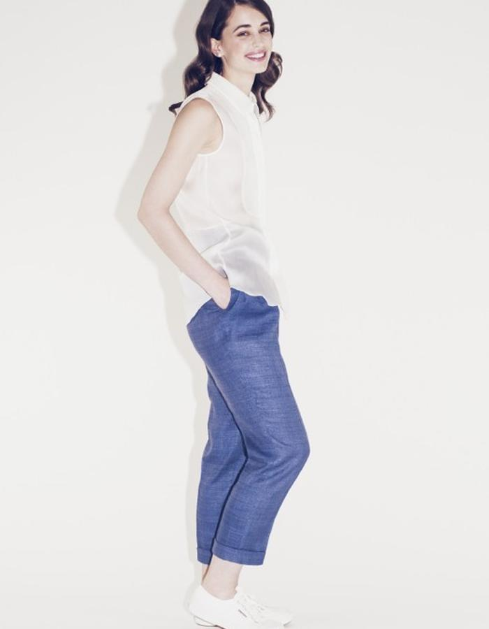 Lilly Ingenhoven SS15 silk pants and blouse