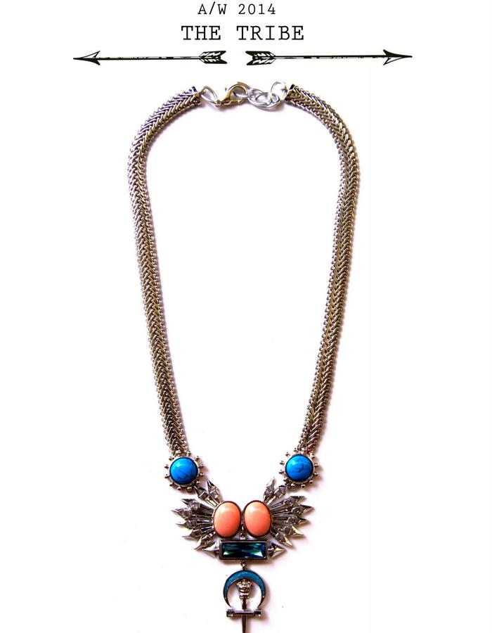 pretty stoned necklace