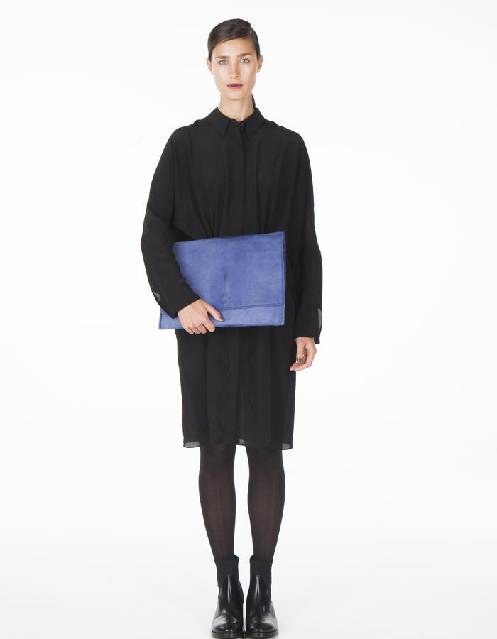 ONAR ELIF clutch - lavender calf leather