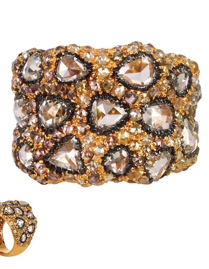 """""""Marshmallow"""" Raw Diamond Ring"""