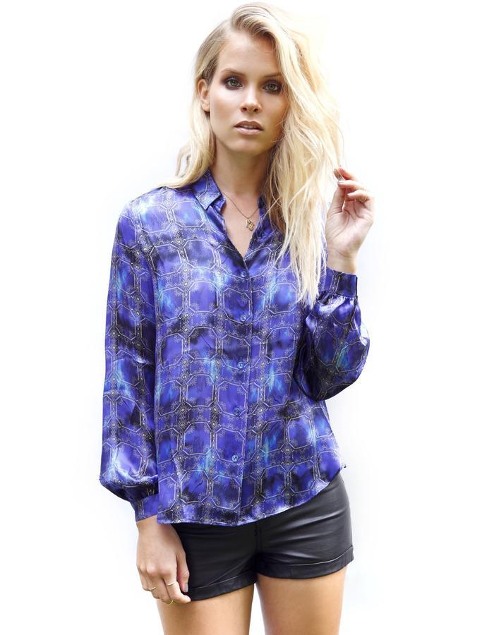 Sanna Naapuri Spring/Summer 2015 Look 6: Zanzibar Shirt