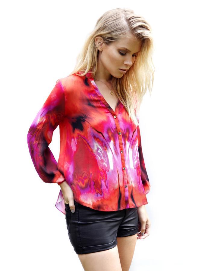 Sanna Naapuri Spring/Summer 2015 Look 4: Dusk Shirt