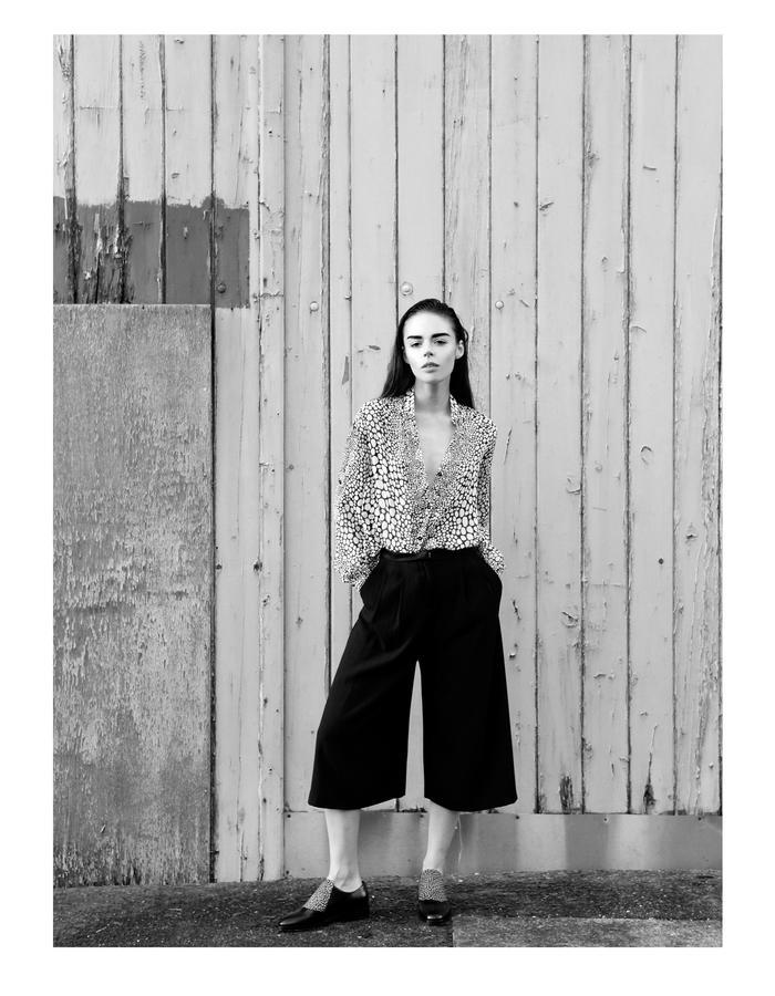 Sanna Naapuri Pre A/W 2015 Look 7: Flurry Shirt