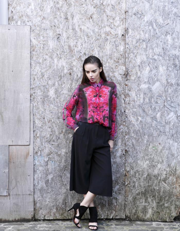 Sanna Naapuri Pre A/W 2015 Look 4: Rosa Shirt