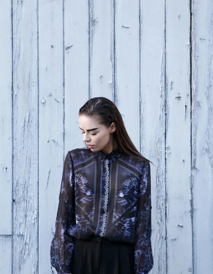 Sanna Naapuri Pre A/W 2015 Look 5: Midnight Shirt