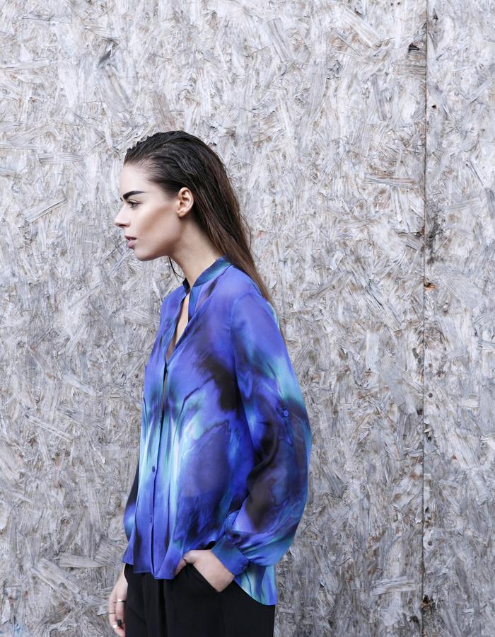 Sanna Naapuri Pre A/W 2015 Look 6: Aurora Shirt