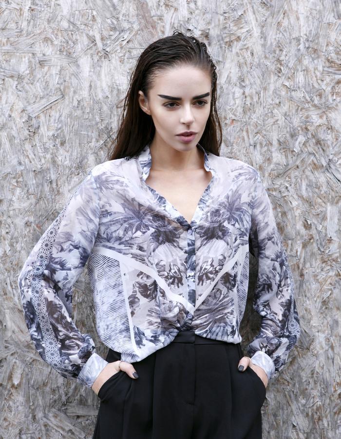 Sanna Naapuri Pre A/W 2015 Look 1: Frost Shirt
