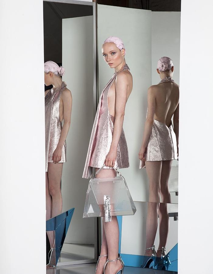 Bei Na Wei Spring Summer 2015 intuition dress