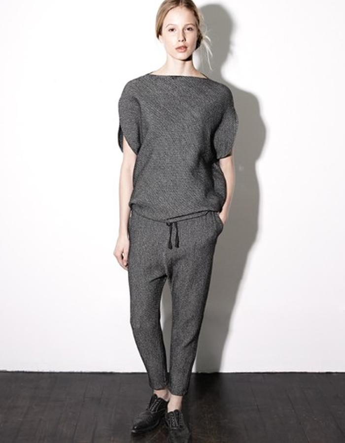 Herringbone Circle Top and Drawstring Pants style # 0202 and 0303