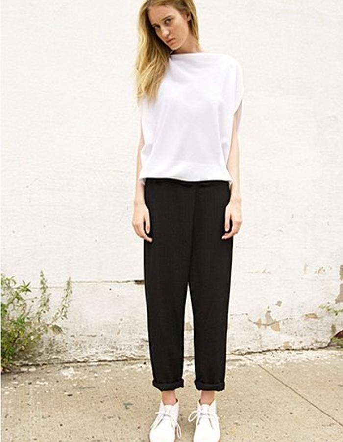 Circle Top and Foldover Pants