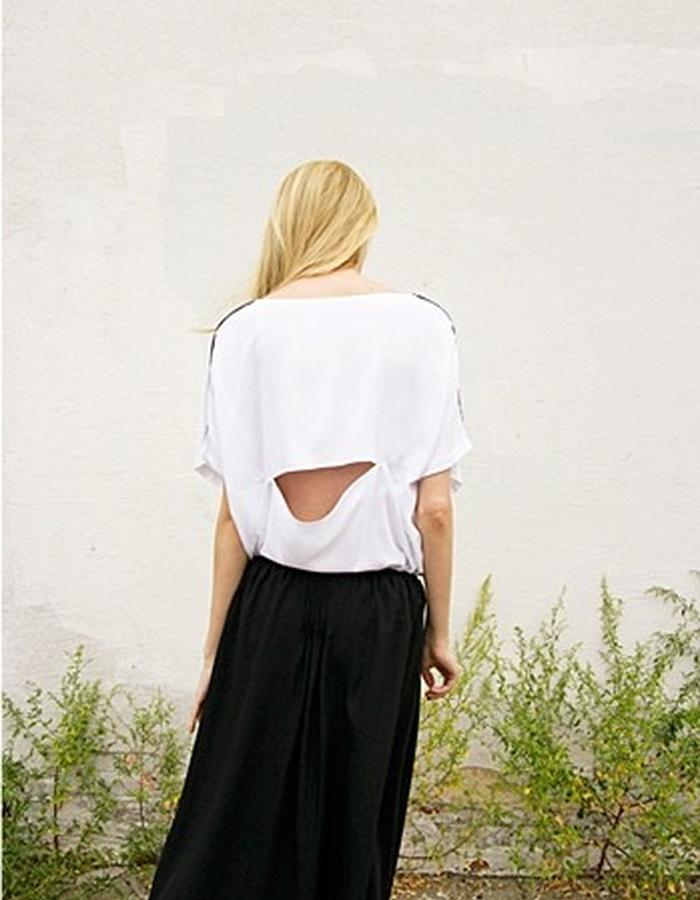 T-Shirt and Wrap Skirt