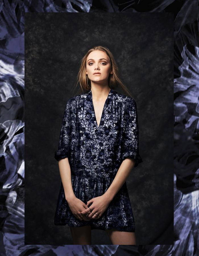 Sanna Naapuri Autumn/Winter 2015 Look 5: Inca Shirt dress / Camouflage print