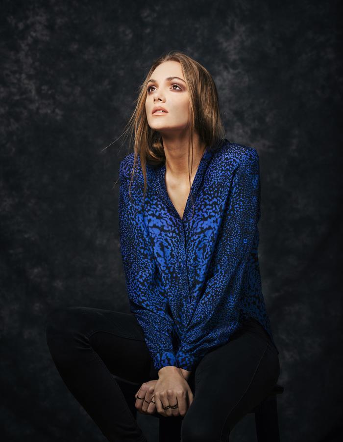 Sanna Naapuri Autumn/Winter 2015 Look 6: Meri Shirt / Glow print