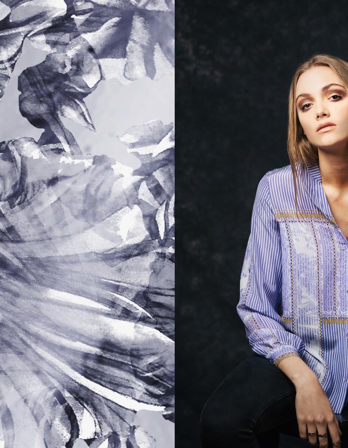 Sanna Naapuri Autumn/Winter 2015 Look 4: Meri Shirt / Boy print