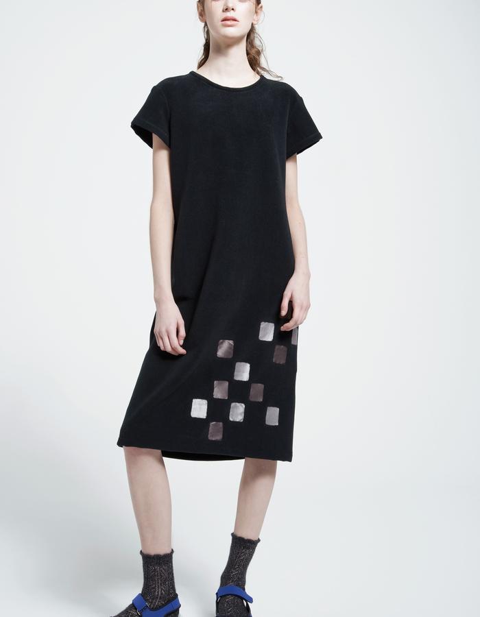 casual fleece dress