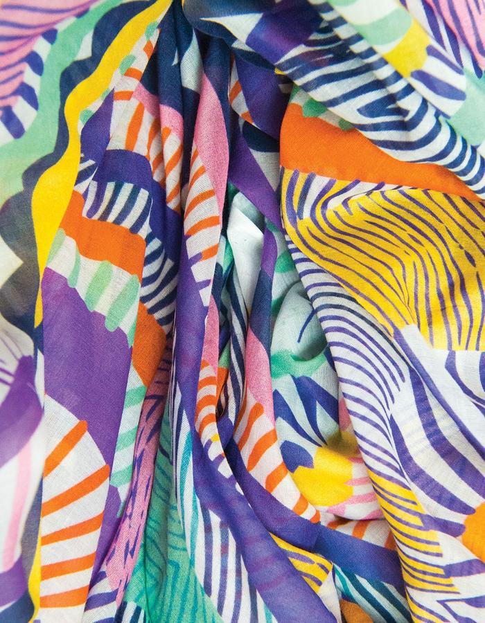 Byzantium Voyeur scarf by Liz Nehdi