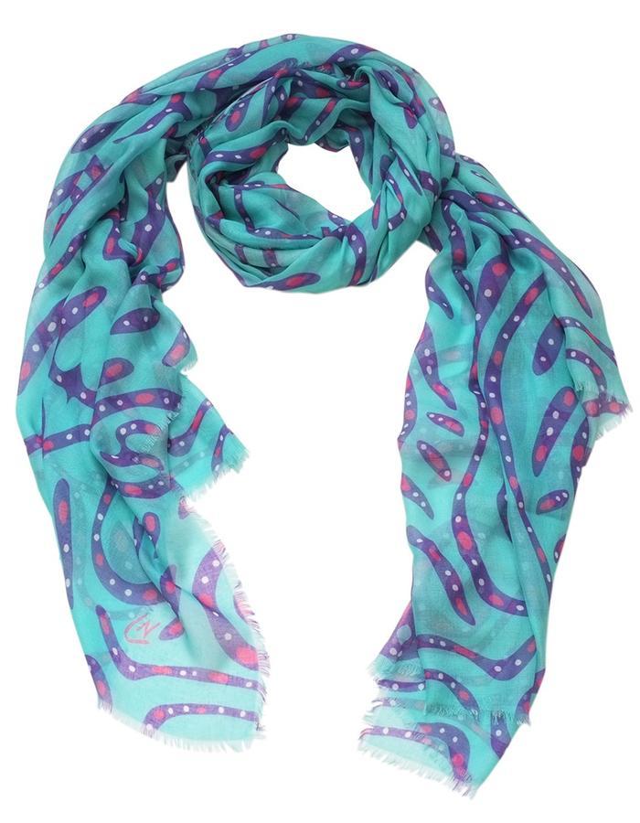 Kondria scarf by Liz Nehdi