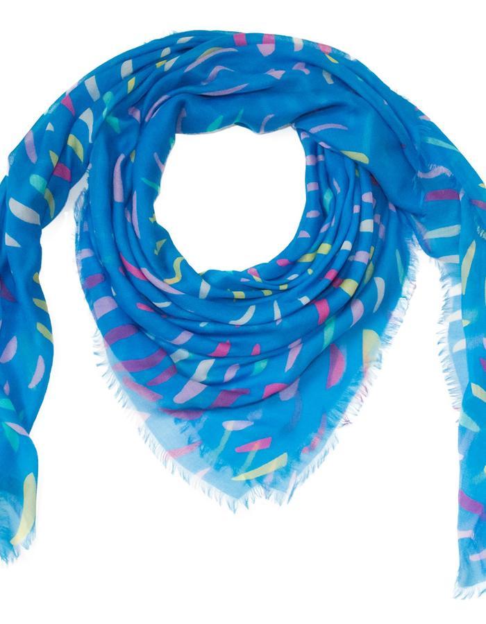 Lindisfarne Iris scarf by Liz Nehdi