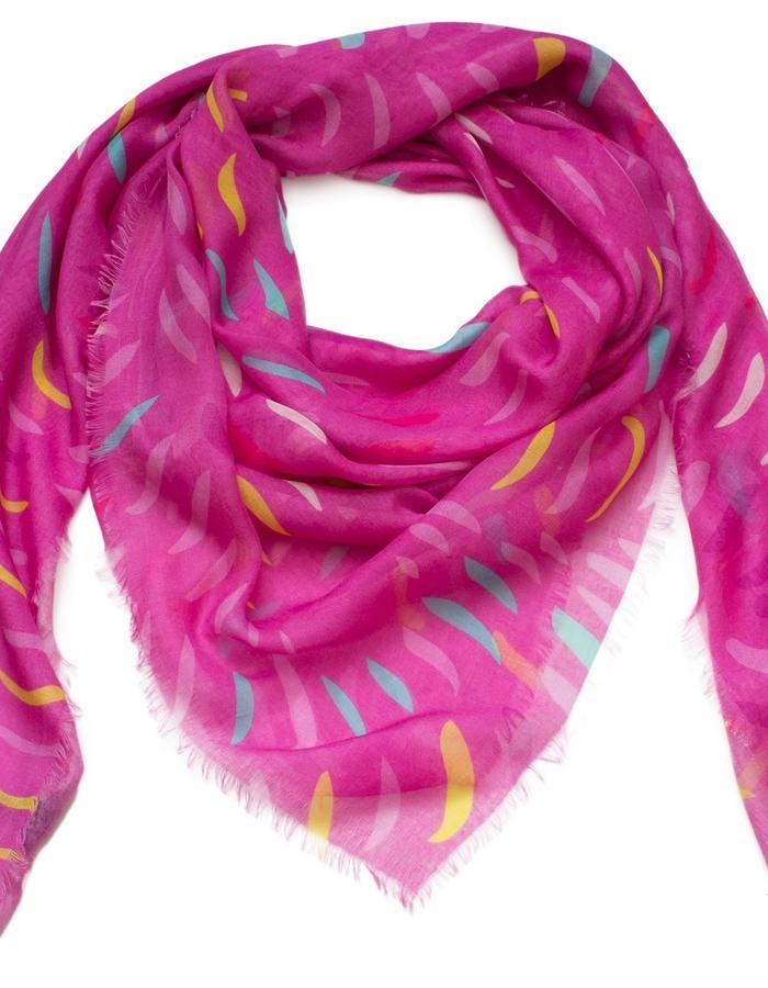 Lindisfarne Rose scarf by Liz Nehdi