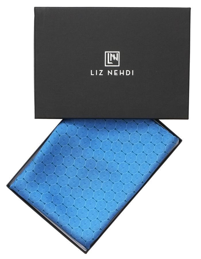 Straight pocket square by Liz Nehdi