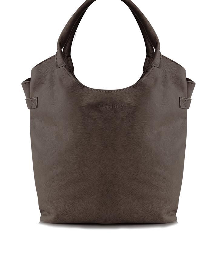 JANNISSIMA Handbag L Vintage Dark Brown