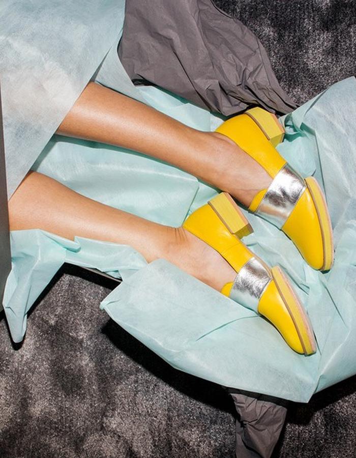 INCH2 • Silver Lemon Loafers