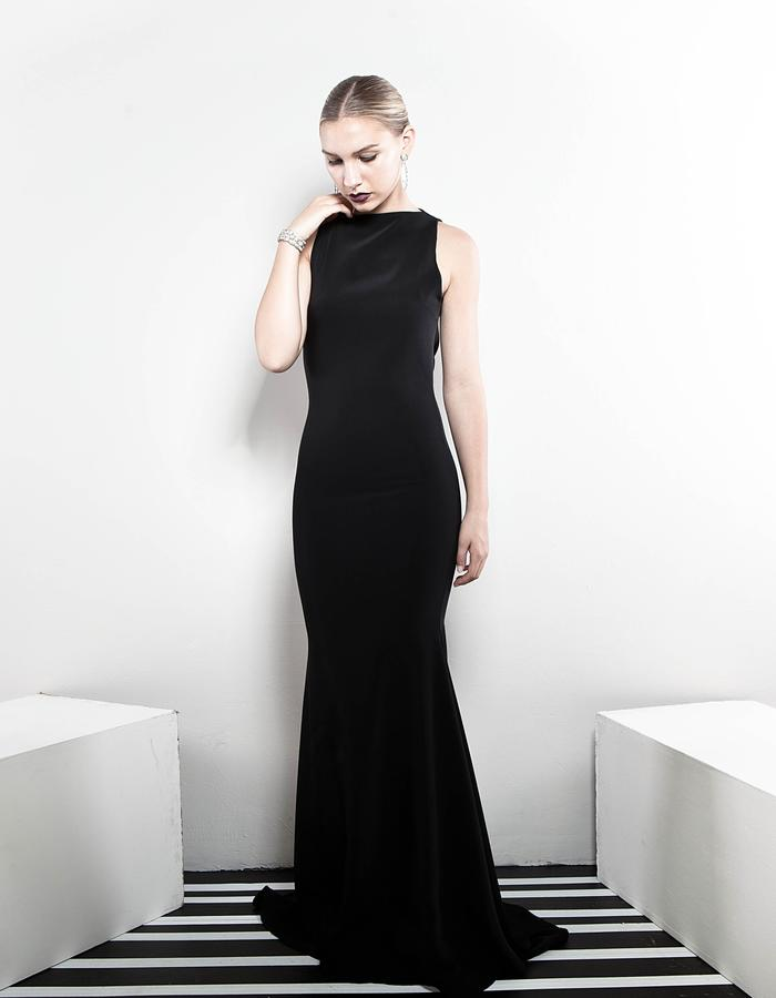 The Black Lotus gown