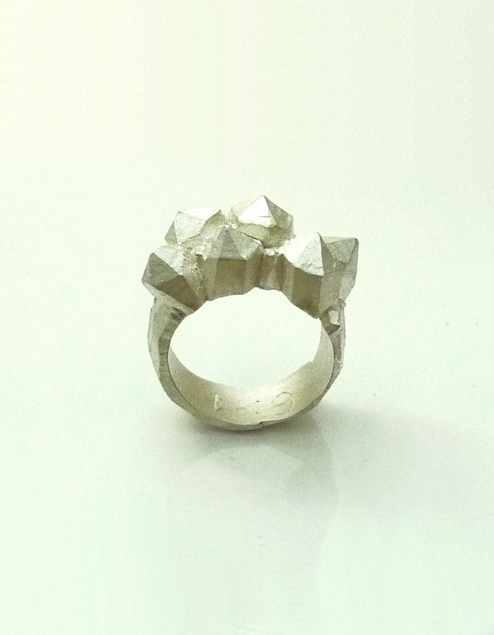 Sterling silver one-off ring