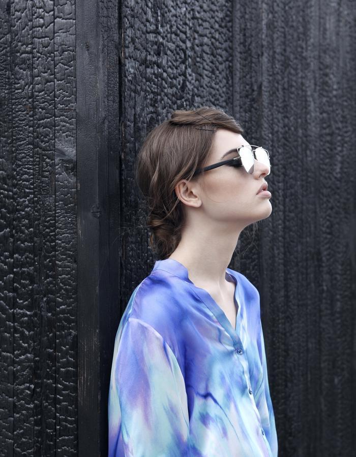 Sanna Naapuri Resort 2016: Meri shirt / Oil print