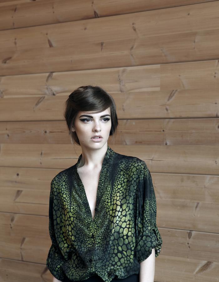 Sanna Naapuri Resort 2016: Meri shirt / Gecko print