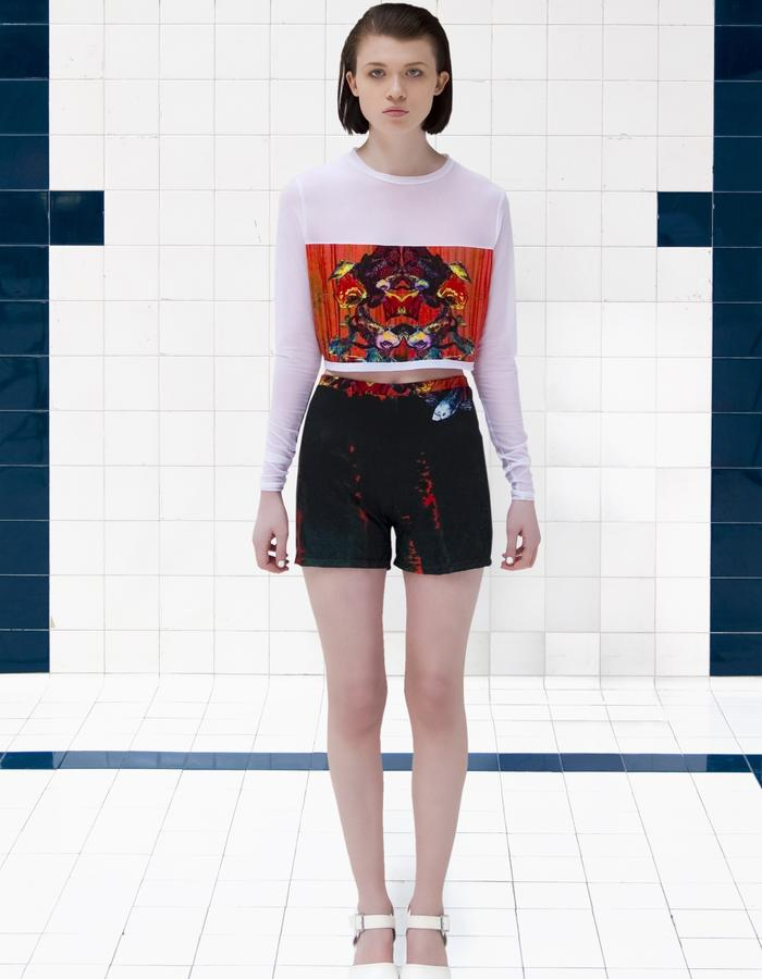 Dead Sleekit co-ord top with shorts