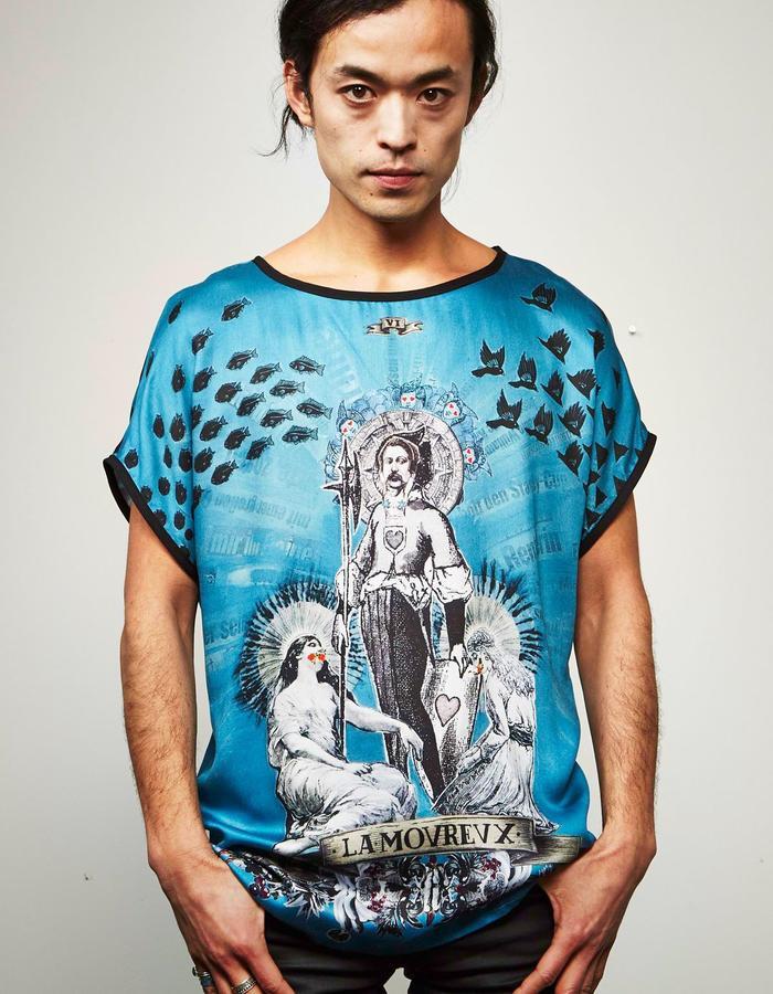 "DOREAPALAN/Amoreux T Shirt/ ""Arcane"" collection"