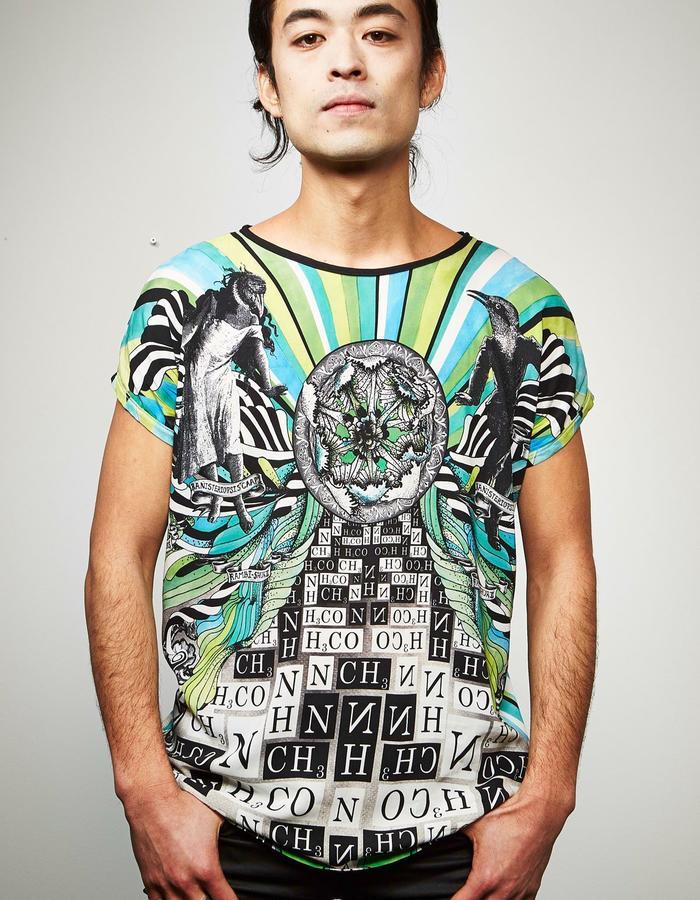 "DOREAPALAN/Yague Birds Tshirt/ ""Mydriasis"" collection"