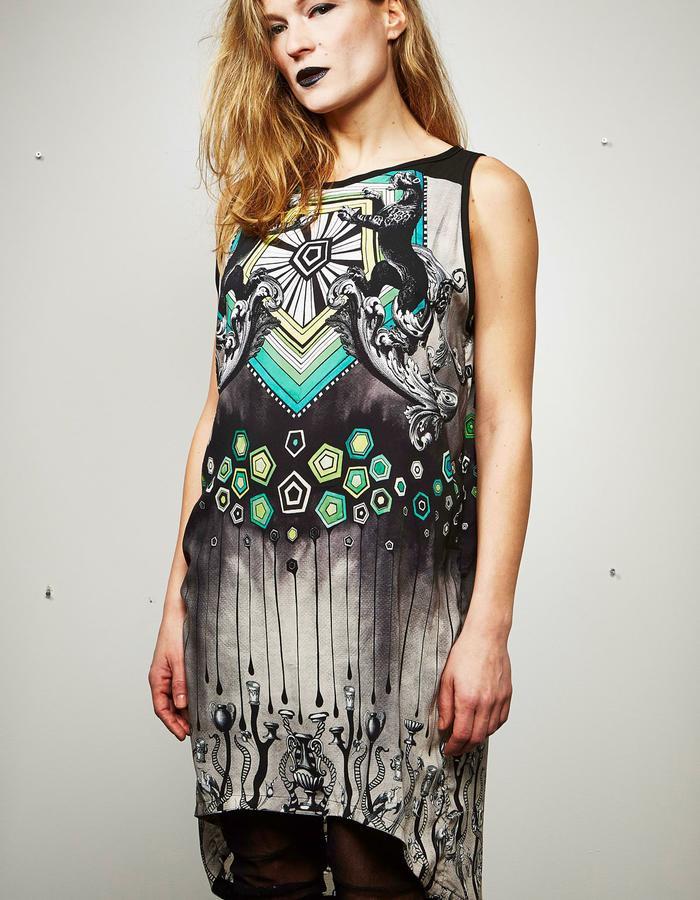 """DOREAPALAN/Yague Dress/ """"Mydriasis"""" collection"""
