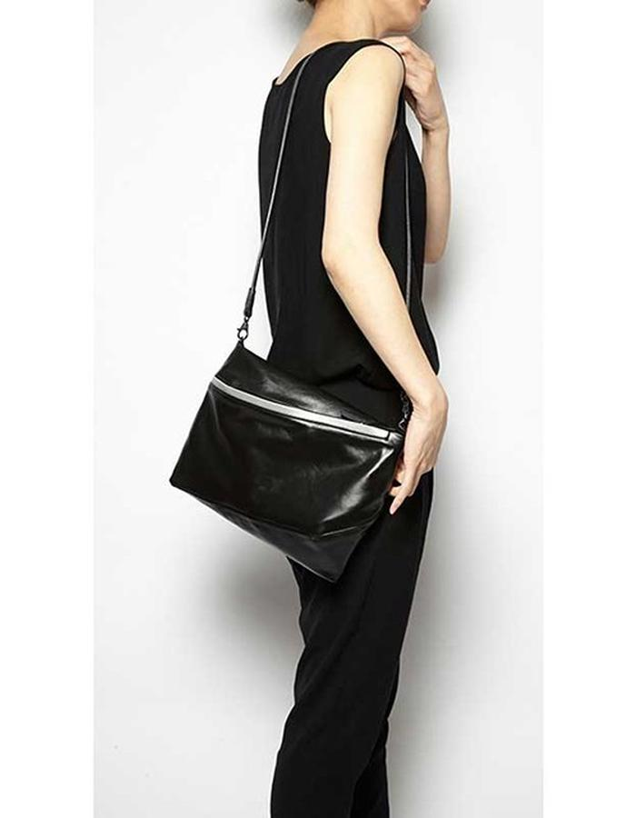 Clifton black bag with reflective detail
