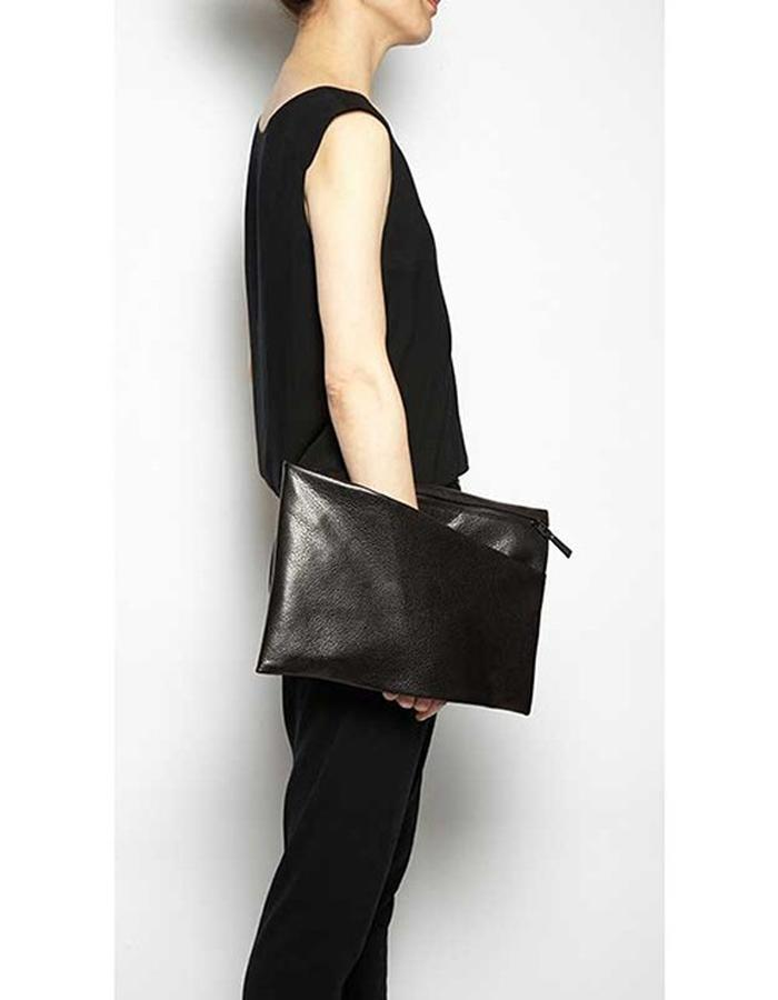 Alderney black embossed bag