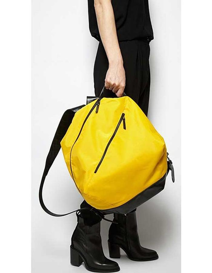 Dunbridge yellow backpack
