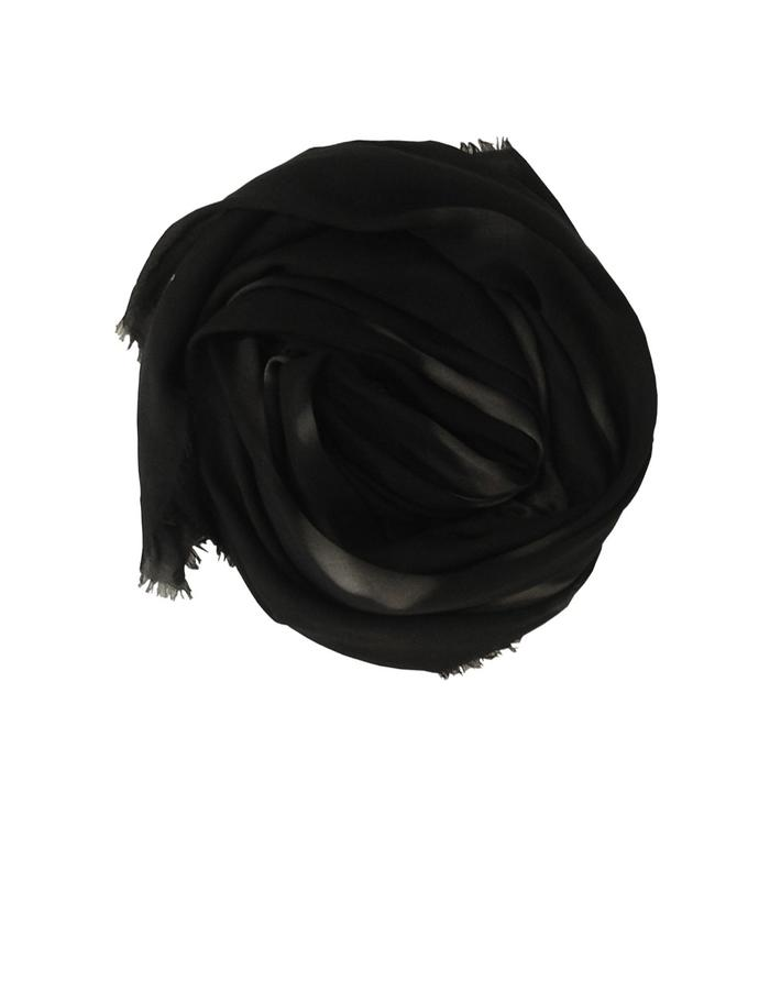 scarf from a friend of mine, limited edition, made in Italy. blindspot bw.